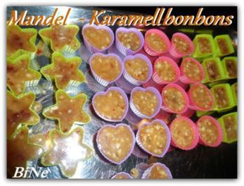 Rezept: BiNe` S MANDEL - KARAMELLBONBONS