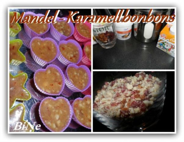 BiNe` S MANDEL - KARAMELLBONBONS - Rezept
