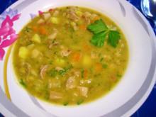 Deftiger Eintopf mit Fleisch- und Gemüseresten - Rezept