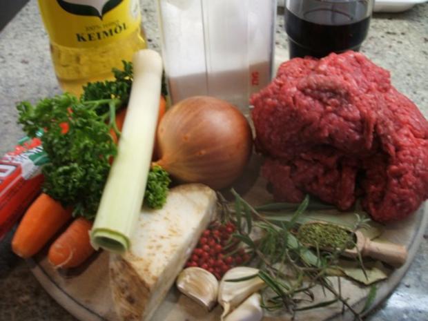 Gewürzmischungen: Fleischbrühe-Konzentrat - Rezept - Bild Nr. 2