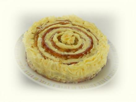 Kuchen ~ die zarte Rose ~ - Rezept