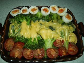 Rezept: Auflauf: Brokkoli mit Käse überbacken
