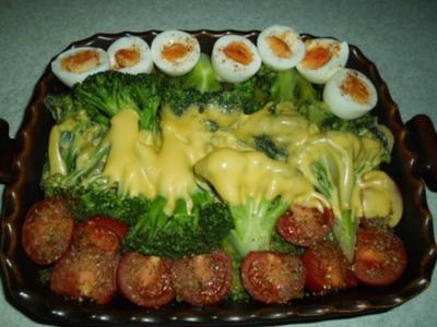 Auflauf: Brokkoli mit Käse überbacken - Rezept