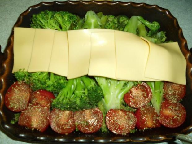 Auflauf: Brokkoli mit Käse überbacken - Rezept - Bild Nr. 5
