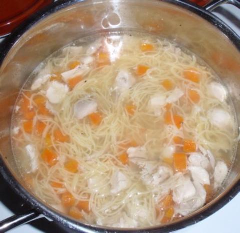 Hühnersuppe a la Linda - Rezept - Bild Nr. 9