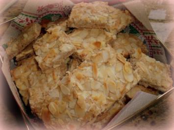 Weihnachtsplätzchen: Mandel-Spekulatius vom Blech - Rezept