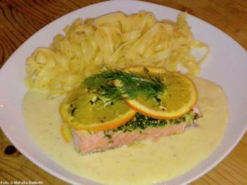 Rezept: Fruchtiger Ofen-Lachs