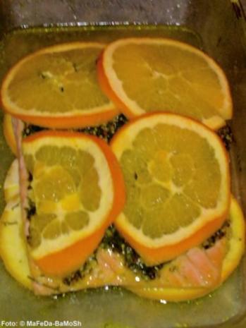 Fruchtiger Ofen-Lachs - Rezept - Bild Nr. 2