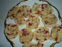 Streuselkekse aus Blätterteig - Rezept