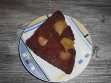 Schokoladen-Apfel-Kuchen - Rezept