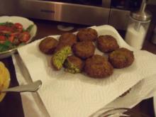 Elchipanzis Falafel - Rezept