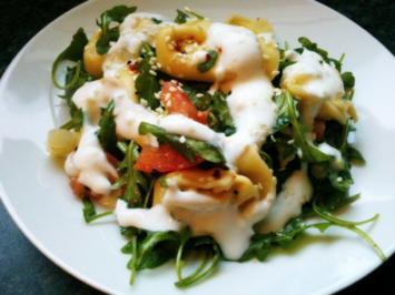 Tortellini Rucola Salat - Rezept