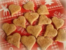 Weihnachtsplätzchen: Zimt-Herzen - Rezept