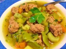 Hackfleisch-Eintopf mit Breiten Bohnen - Rezept