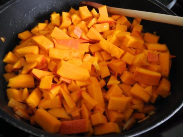Vegan : Kürbis - Karotten -  Lasagne - Rezept - Bild Nr. 8