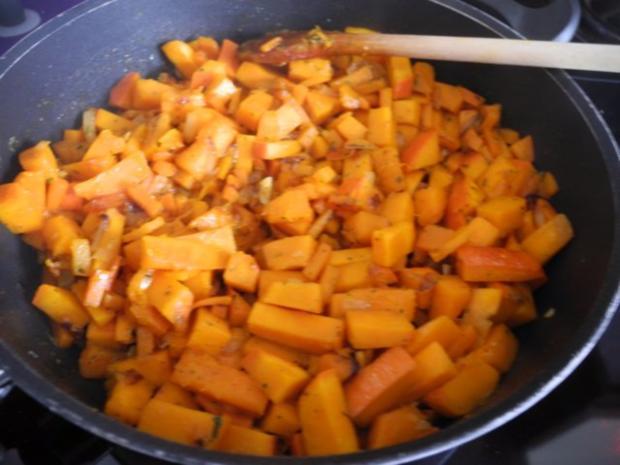 Vegan : Kürbis - Karotten -  Lasagne - Rezept - Bild Nr. 9