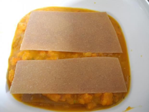 Vegan : Kürbis - Karotten -  Lasagne - Rezept - Bild Nr. 16