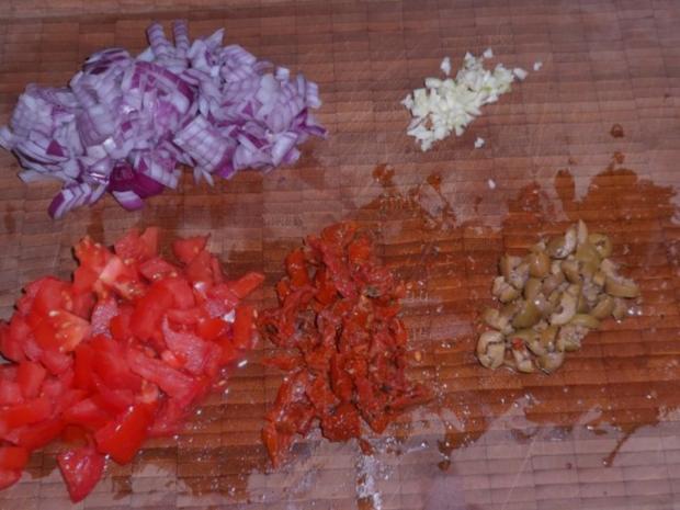 Beilagen: Mediterrane Ofenkartoffeln nach Bruschetta-Art - Rezept - Bild Nr. 2