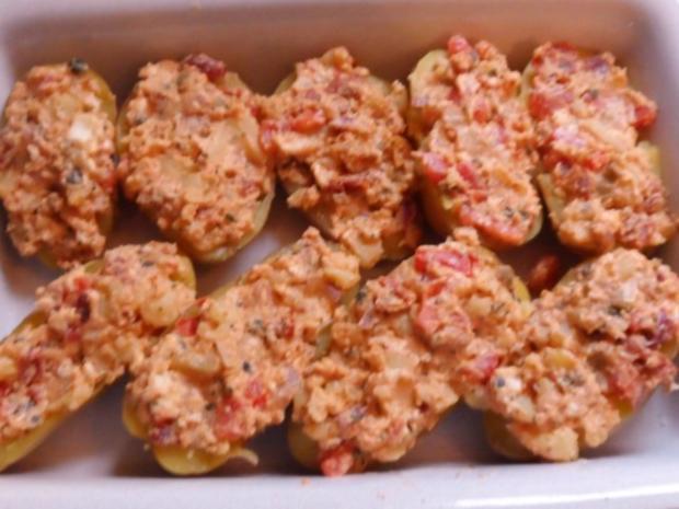 Beilagen: Mediterrane Ofenkartoffeln nach Bruschetta-Art - Rezept - Bild Nr. 7