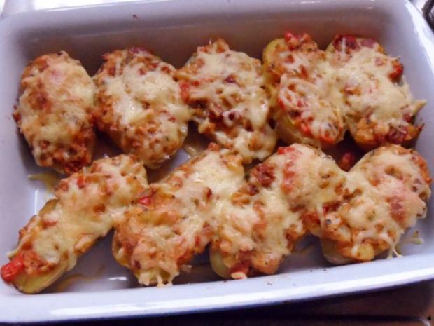 Beilagen: Mediterrane Ofenkartoffeln nach Bruschetta-Art - Rezept - Bild Nr. 9