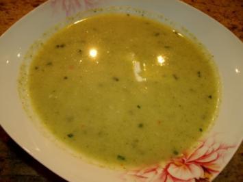 Brokkoli-Gorgonzola-Suppe - Rezept