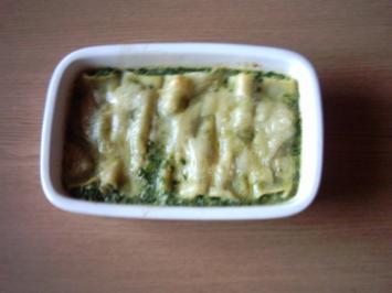 Rezept: Cannelloni gefüllt mit Rocotta-Spinat