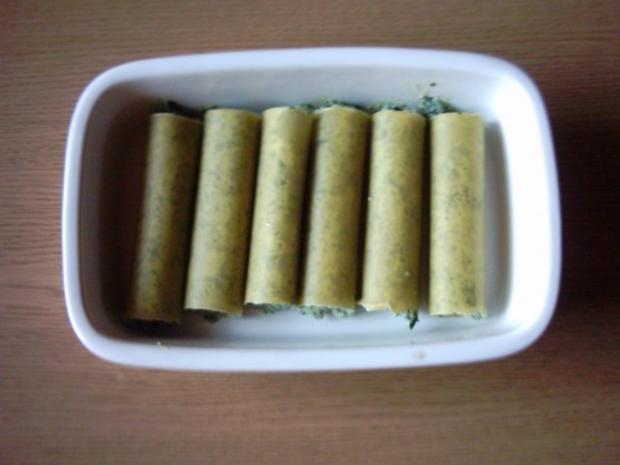 Cannelloni gefüllt mit Rocotta-Spinat - Rezept - Bild Nr. 4
