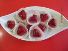 Pralinen: Amaretto-Herzen - Rezept