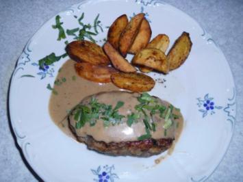 Fleisch: Hackfleisch mit Sahnesauce - Rezept