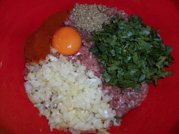 Fleisch: Hackfleisch mit Sahnesauce - Rezept - Bild Nr. 3