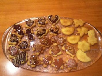 Weihnachtsplätzchen: Butterplätzchen - Rezept