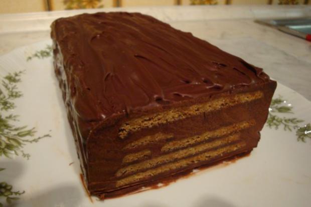 Schokoladen-Karrée mit Gewürzspekulatius - Rezept - Bild Nr. 3