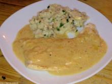 Putenschnitzel in Zitronensosse - Rezept