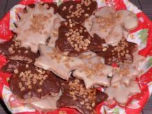 Weihnachtsbäckerei: Schoko-Mandel-Plätzchen - Rezept