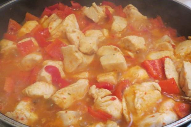 Kochen: Fruchtige Hähnchenbrust - Rezept - Bild Nr. 2