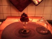 Schoko-Kirsch-Cupcakes - Rezept