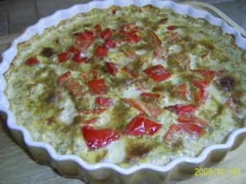 Fisch: Würziges Lachsgratin mit Paprika... - Rezept