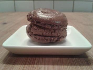 Schokoladenmacarons - Rezept