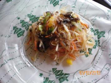Salat: Glasnudelsalat - Rezept