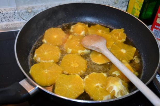 Schokotörtchen , weicher Kern und beschwipste Orangen - Rezept - Bild Nr. 6