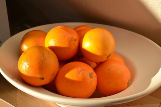 Schokotörtchen , weicher Kern und beschwipste Orangen - Rezept - Bild Nr. 4