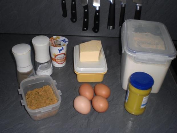 Eier in Senfsoße - Rezept - Bild Nr. 2