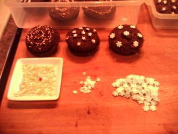 Schokoladenkekse mit weißer Schokolade und Macadamia Nüssen - Rezept
