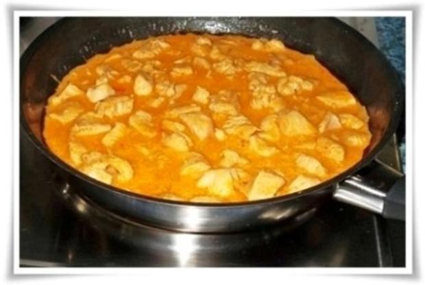 Deftiges Putengulasch natürlich mit selbstgemachten Pommes - Rezept - Bild Nr. 9
