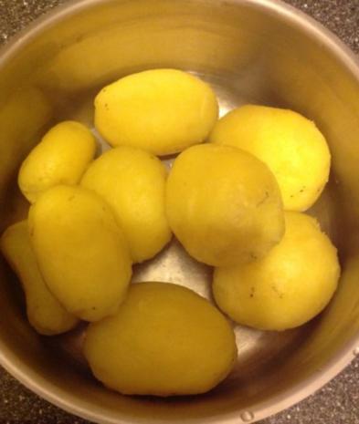 Kubbe - kartoffelbällchen mit Hackfüllung - Rezept - Bild Nr. 3