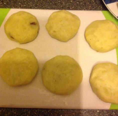 Kubbe - kartoffelbällchen mit Hackfüllung - Rezept - Bild Nr. 11