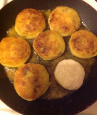 Kubbe - kartoffelbällchen mit Hackfüllung - Rezept - Bild Nr. 14