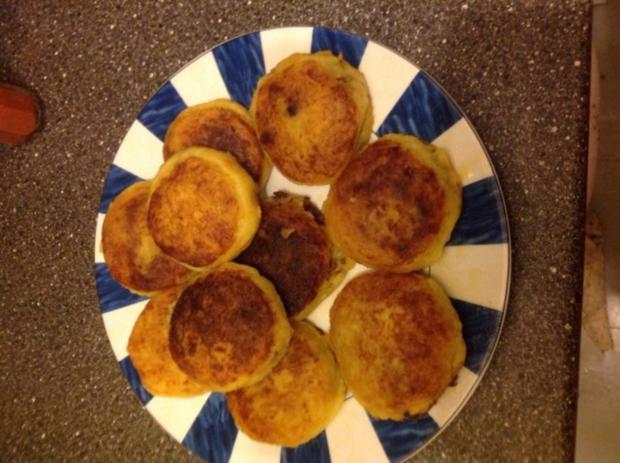 Kubbe - kartoffelbällchen mit Hackfüllung - Rezept - Bild Nr. 15