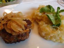 Frikadellen mit schwäbischem Kartoffelsalat - Rezept