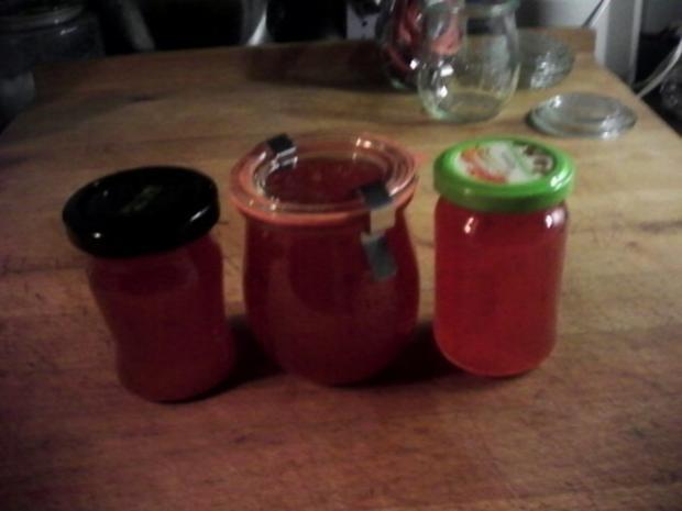 Chili-Marmelade (Ursprungs Rezept von Nigella Lawson) - Rezept